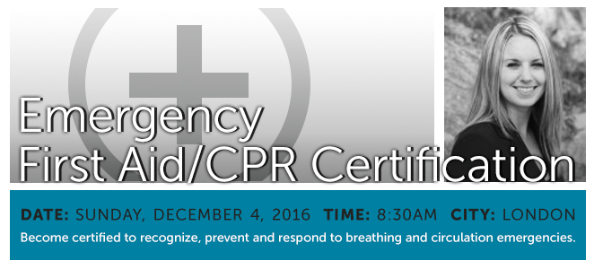 Emergency First Aid/CPR Certification